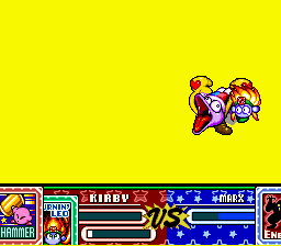 Kirby Super Star - Weirdest Screenshot Ever. - User Screenshot